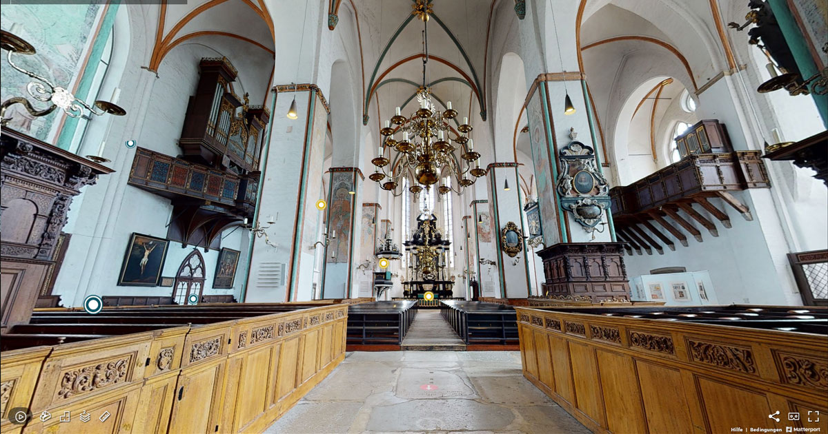 Das immo büro - St. Jakobi Lübeck 3D Tour