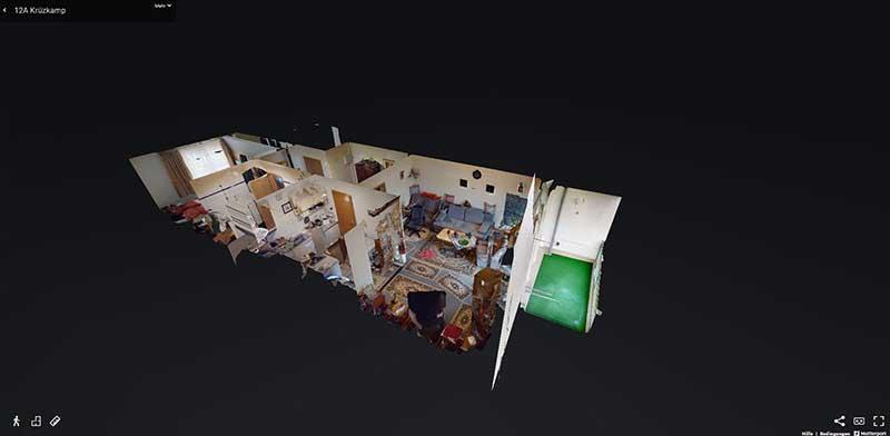 das immo büro | virtueller Immobilenrundgang mit Matterport Pro2 3D