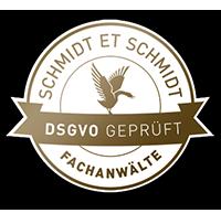 DSGVO Siegel Resulted Schmidt et schmidt